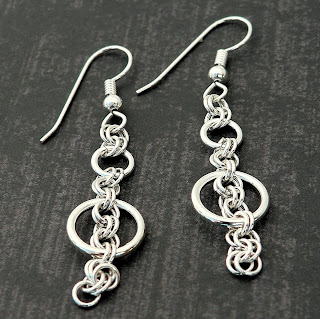 Danenke Jewelry Design Sterling Silver Chainmaille Jewelry