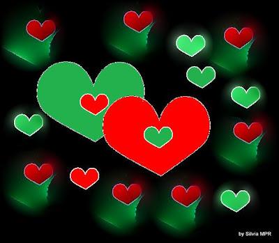 tarjetas de amor. imagenes de corazones de amor.