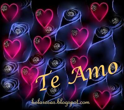 amor corazones y rosas
