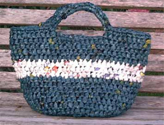 FREE PATTERN INSTRUCTIONS CROCHETED PLASTIC BAG EVENING BAGS - Easy ...