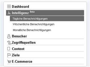 web analytics inside: intelligence