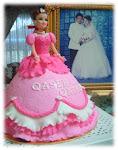 Princess Chubby Doll Cake -Fondant