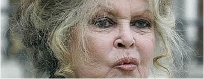 Brigitte Bardot idosa.