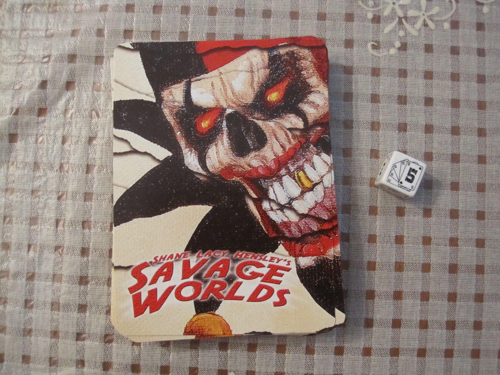 The Hopeless Gamer: Review: Savage Worlds Starter Kit