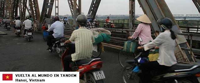 El mundo en tándem - Vietnam