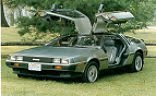 "46. ""DeLorean, the car, still turning heads"""