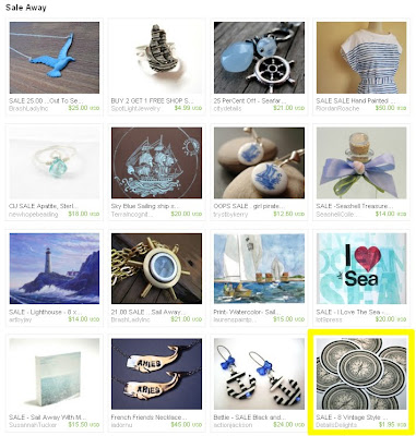 Sale Away Etsy Treasury