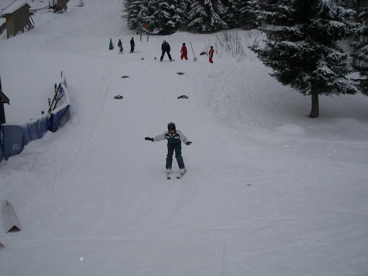 ....pratiquer le saut à Ski à Chaux Neuve !!