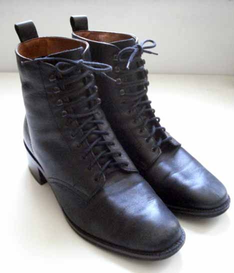 Lace Up Boots. $2; lace up boots,