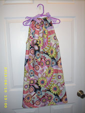 Flower print 5t pillowcase dress