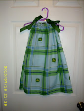 John Deere Pillowcase Dress