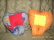 Spiderman and Polka Dot Toothfairy Pillows