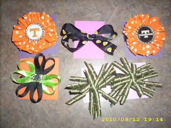 Halloween and Vols Bows