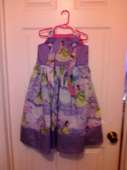 Princess Tiana knot dress