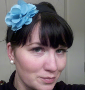 Brittney wearing her Silk Flower Clip