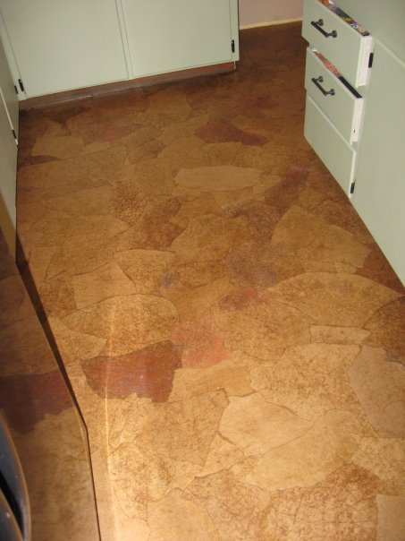 Brown Paper Bag Floor Covering http://lilliedale.blogspot.com/2010/04/paper-bag-flooring.html