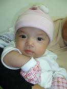 Nur Aimy Afifah (4 bln = 3.6kg)
