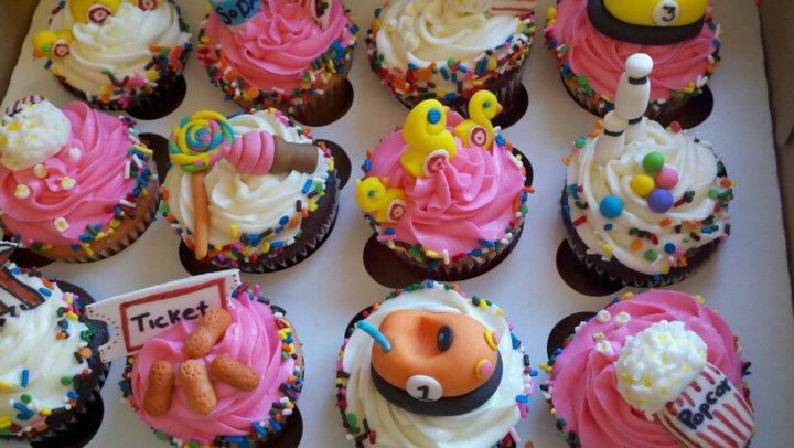 Carnival Cupcake Ideas