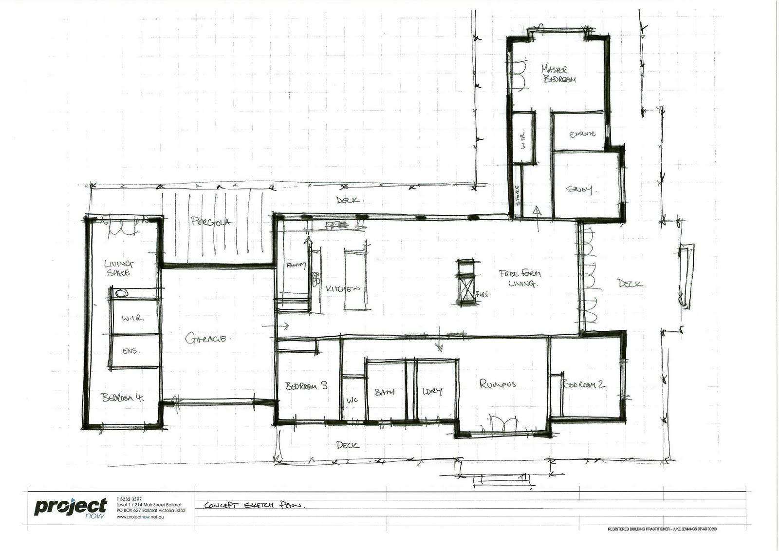 28 House Plan Sketch Quot F Quot House BigThe Extravagant