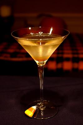 Subtle Pumpkin Martini