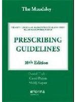 The Maudsley Prescribing Guidelines, Tenth Edition PRESCRIBING+GUIDELINES