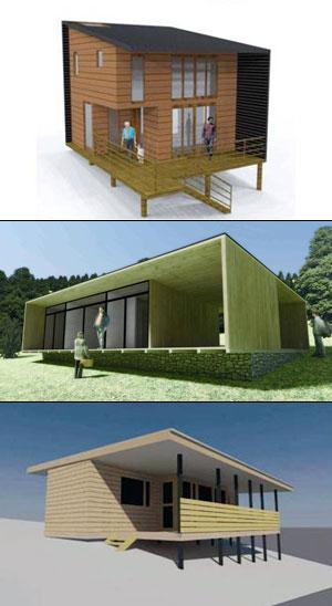 Chile hoy presentan 7 modelos exclusivos de casas para for Viviendas para terrazas