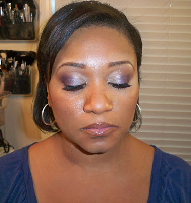 angel+eyes+closed Bridal Trial:  Soft Purples
