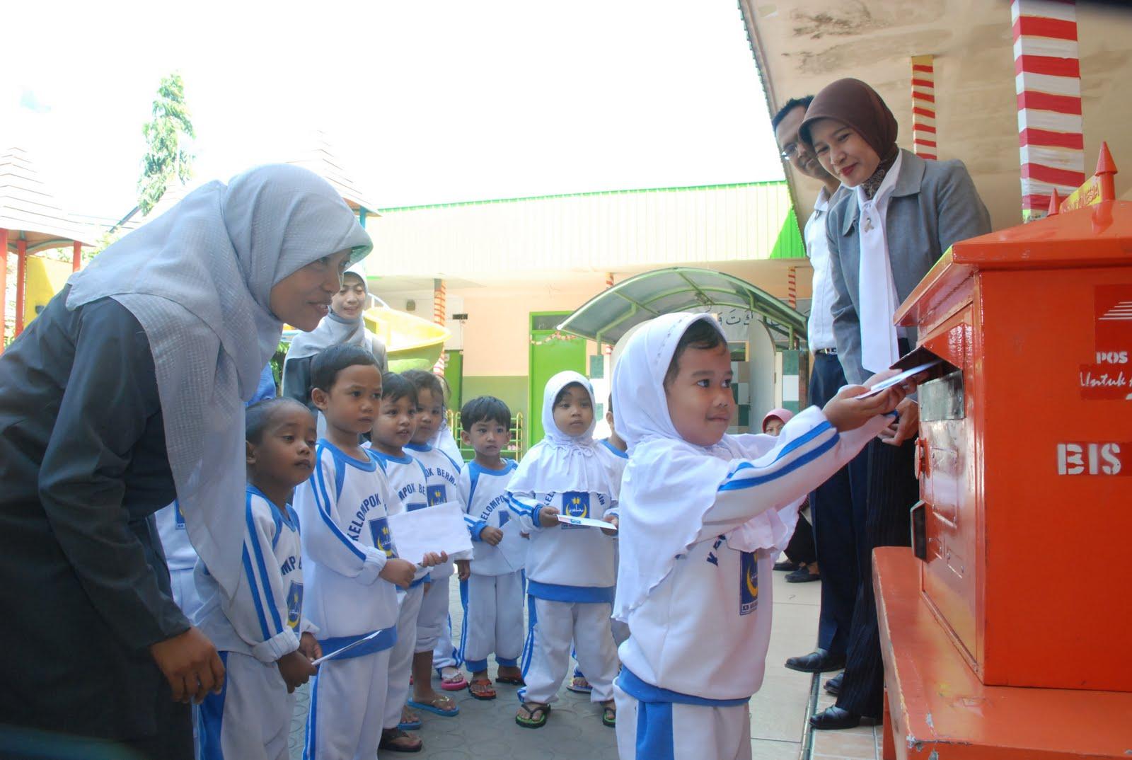 Kegiatan Bulan Ramadhan KB-TK Mujahidin Surabaya