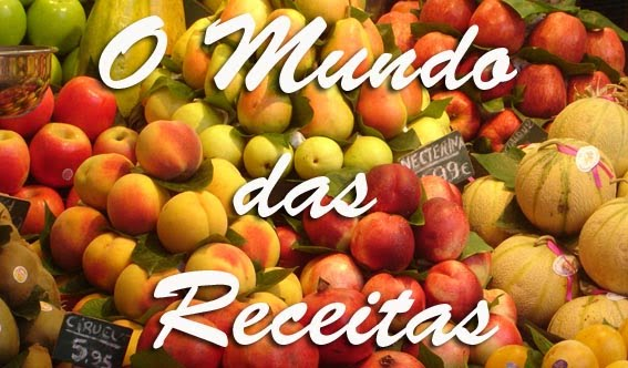 O mundo das receitas