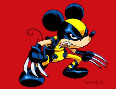 mouserine Lo que podria pasar con la fusion de Disney y Marvel (parodia)