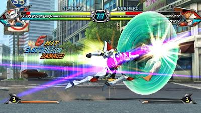 Tatsunoko vs Capcom All Ultimate Stars07 Nuevas imagenes y logo Americano de Tatsunoko vs Capcom Uiltmate Stars