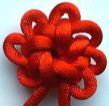 flower knot, chinese knotting