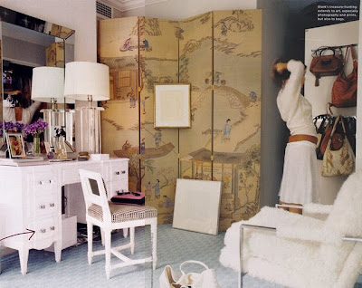 rooms with folding screens