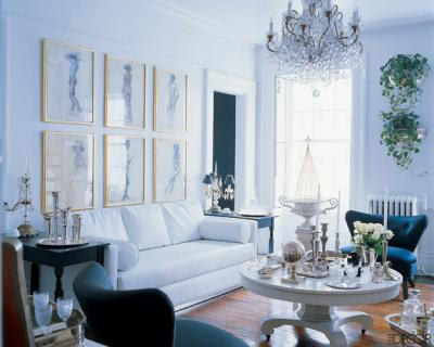 living rooms, chandeliers