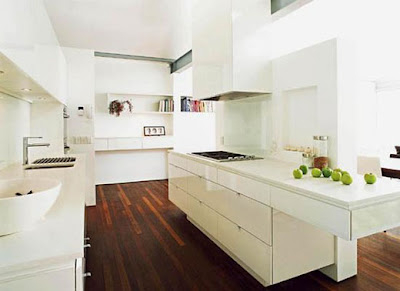Modern House Interior Kitchen Design