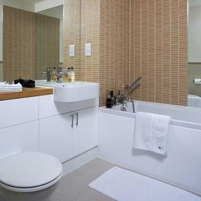 modern interior decorating bathroom design neutral