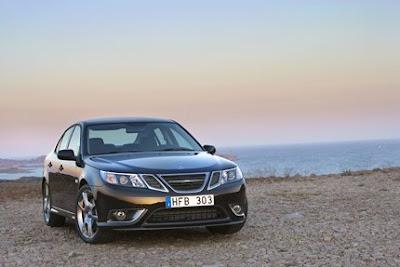 Saab Black Turbo X, Saab, sport car, car, sedan