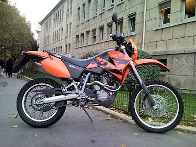 KTM 640 LC4 Motorcycle, KTM, supermoto