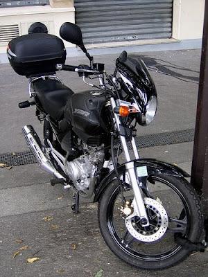 Yamaha YBR, Yamaha, motorcycle