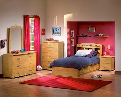 Comodidad de la habitación para los niños dormitorio