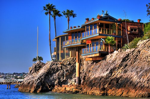 Corona Del Mar, Beach House