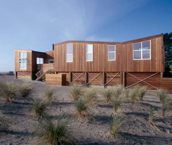 Beach House in Wood — house design