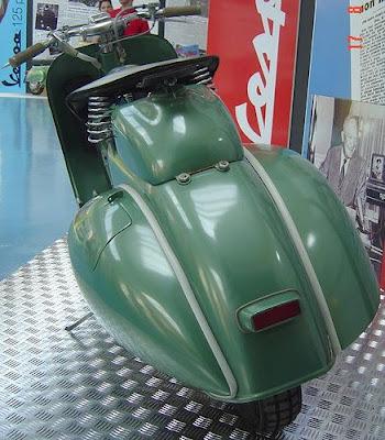 Vespa V125cc Sei Giorni, Piaggio, scooter, classic motorcycle