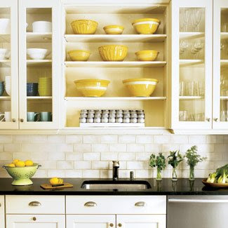 White kitchen - interior design, kitchen, interior design
