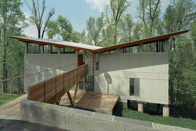 Modern Tree House, Recident House Design, Modern House Design