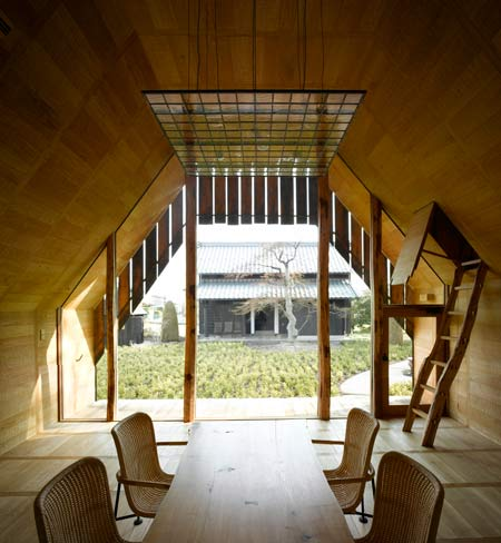 Yakisugi House, Japanese House Design, modern house design, interior design