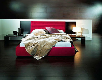 black-red-bedroom-decor. All images by Brandon Barré