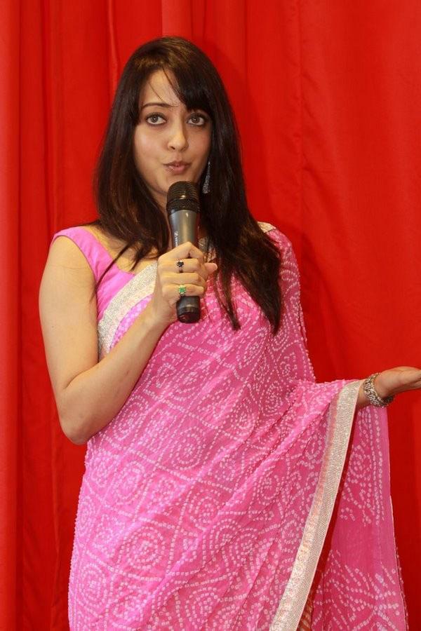 Bollywood actress in Pink saree wallpapers. Indian hot actress Raima sen in