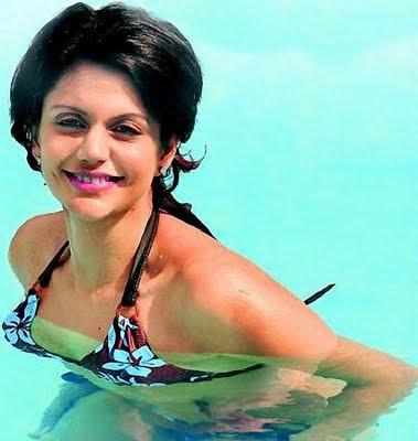 bikini wallpapers. Mandira Bedi Bikini Wallpapers
