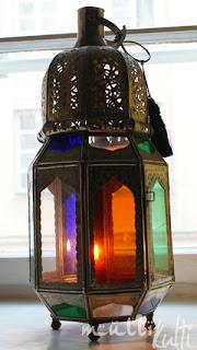 lampion z Maroka